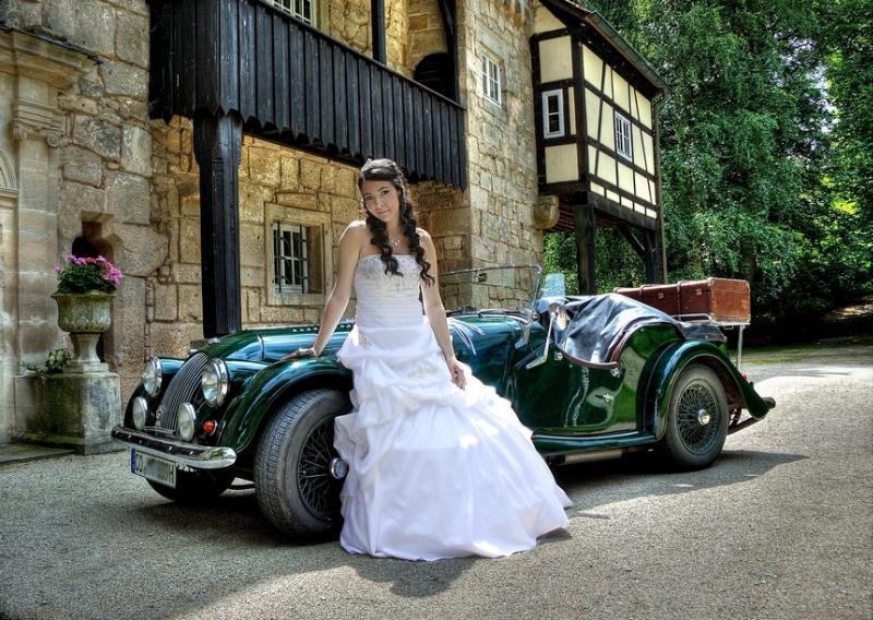Hochzeitsauto Coburg